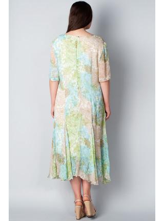 Платье Figure 56 Салатовое plt060/50_eu