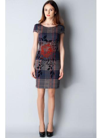 Сукня Excellent 44 Синя plt071/38_eu