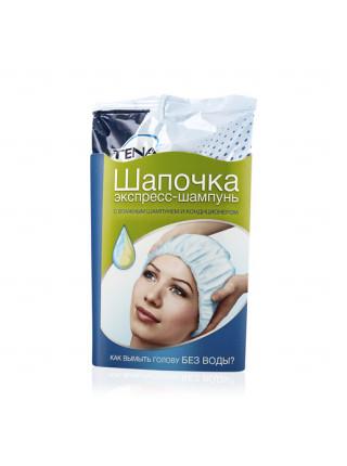 Шапочка Tena для мытья головы без использования воды (Экспресс-шампунь) 1шт tn001