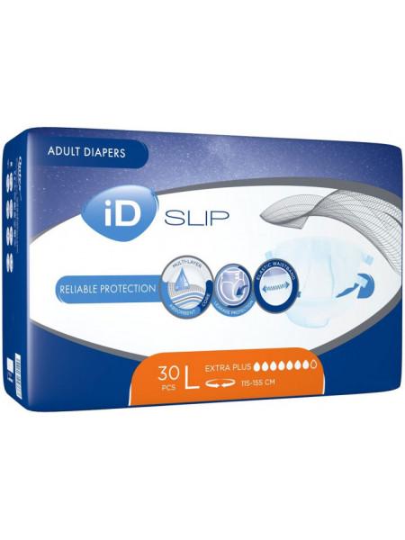 Підгузки для дорослих iD Expert Slip Extra Plus L (115-155 см) 30 од. tn007