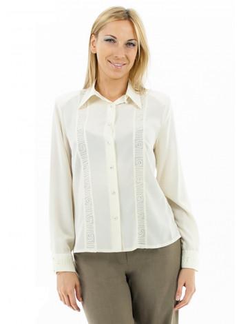 Блуза Abak 46 Кремовая blz120/M_eu