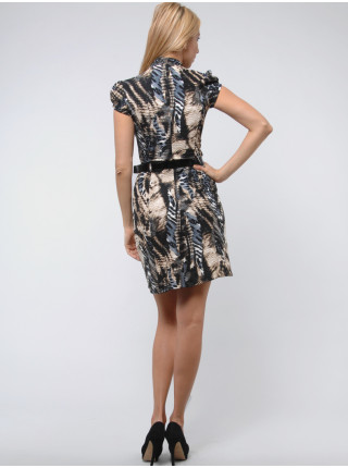 Сукня Fervente 42 Чорно-жовта plt004/36_eu