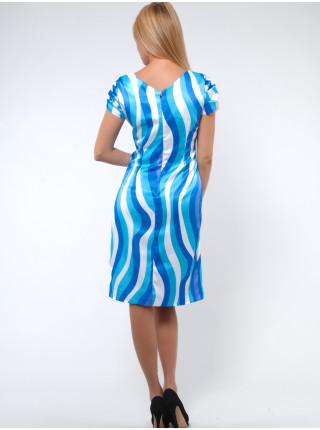 Платье Eveline  46 Голубое plt025/40_eu