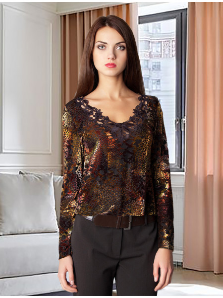 Блуза Abak 44 Золотиста blz074/S_eu