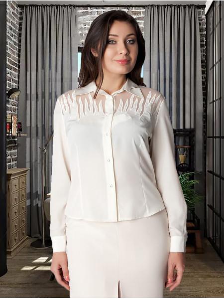 Блуза Abak 46 Кремова blz085/M_eu