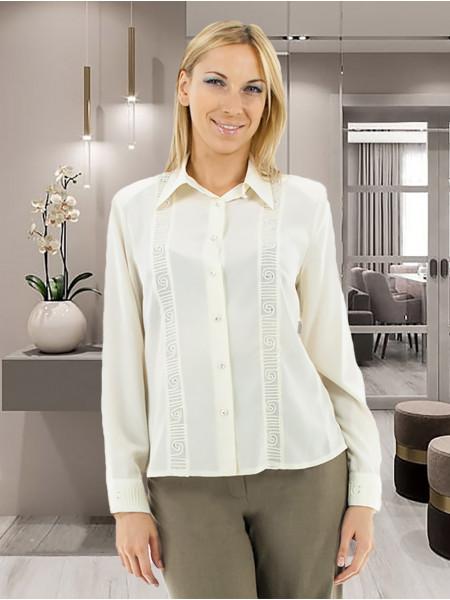 Блуза Abak 46 Кремова blz120/M_eu