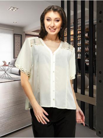 Блуза Crazy 52 Кремова blz150/46_eu