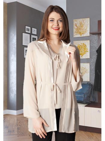 Блуза Academia 48 Золотиста blz166/1_eu