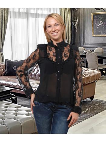 Блуза Abak 46 Чорна blz019/M_eu