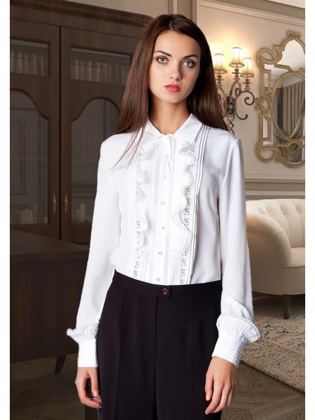 Блуза Abak 44 Біла blz025/S_eu
