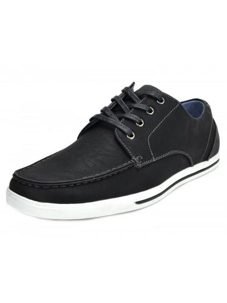 Мужские туфли Casual Bruno MARC RIVERA 45 черные btn001