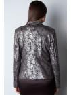 Пиджак Reglan  48 Черно-серебристый pjk055/42_eu
