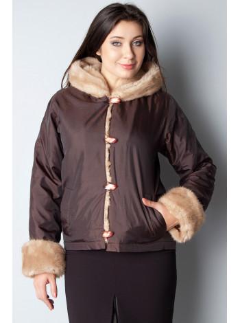 Куртка Lady's 44 Коричнева kurt003/38_eu