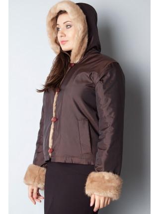 Куртка Lady's 44 Коричневая kurt003/38_eu