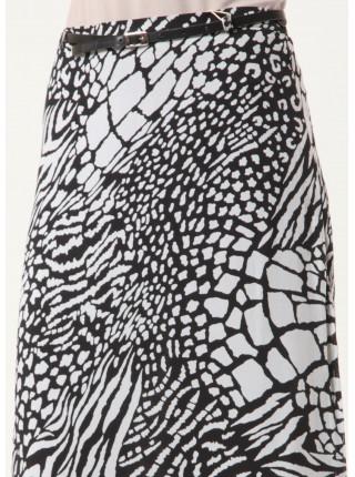 Спідниця Shendel  44 Чорно-біла ubk014/38_eu