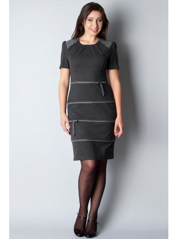 Платье Eveline 46 Серое plt072/40_eu