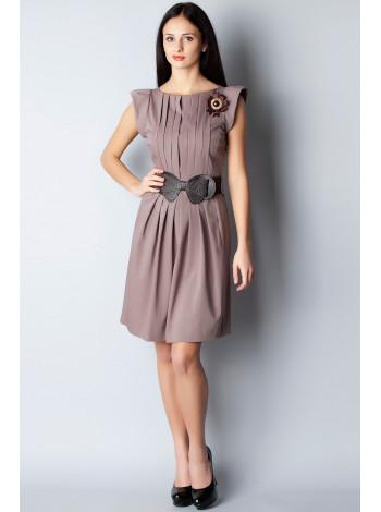 Платье F&B 44 Бежевое plt068/38_eu