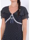 Сукня Eveline 46 Синя-біла plt062/40_eu
