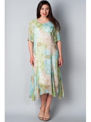Платье Figure 54 Салатовое plt060/48_eu