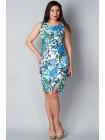 Платье Reglan 46 Бело-синее plt056/40_eu