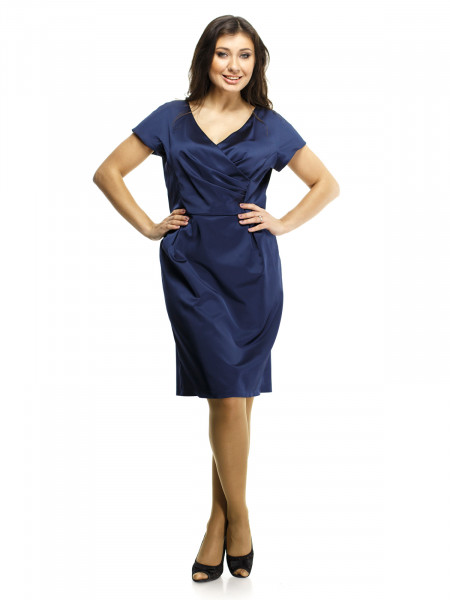 Платье Reglan 56 Синее plt053/50_eu