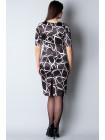 Сукня Reglan 44 Чорно-біла plt052/38_eu