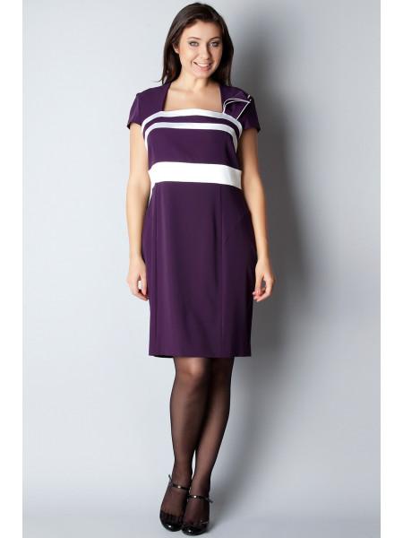 Платье Eveline  54 Сиреневое plt041/48_eu