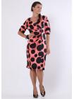 Платье Eveline  50 Коралловое plt033/44_eu
