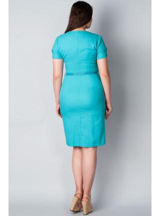 Платье Eveline  54 Бирюзовое plt023/48_eu