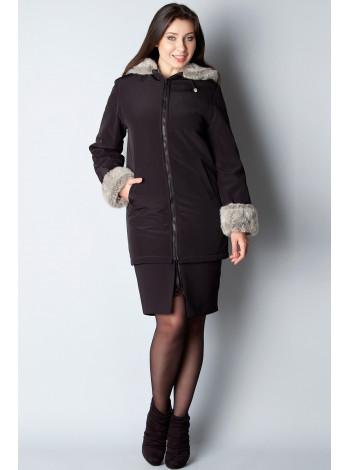 Куртка Leona Benattio 38 Чорна kurt002/32_eu