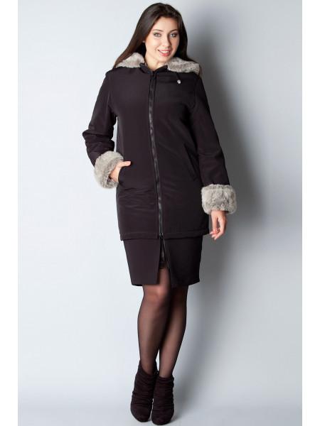 Куртка Leona Benattio 38 Черная kurt002/32_eu