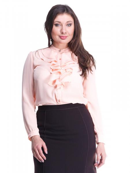 Блуза Syhu 48 Персикова blz167/2X_eu