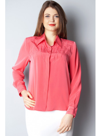Блуза Abak 48 Коралловая blz138/L_eu
