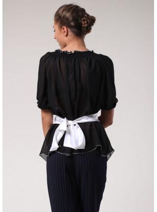 Блуза Fervente 42 Чорна blz116/36_eu