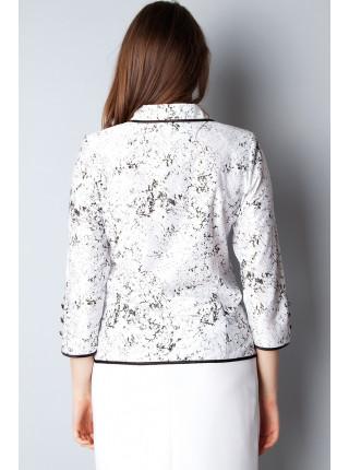 Блуза Fellinaz 46 Черно-белая blz094/2_eu