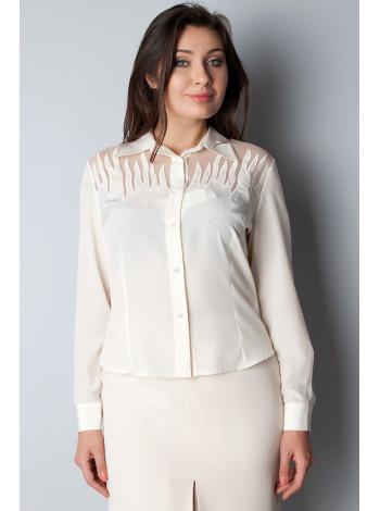 Блуза Abak  46 Кремовая blz085/M_eu