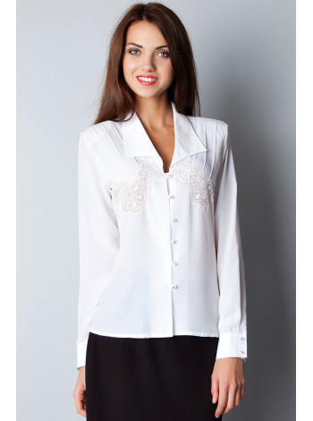 Блуза Abak  44 Белая blz081/S_eu