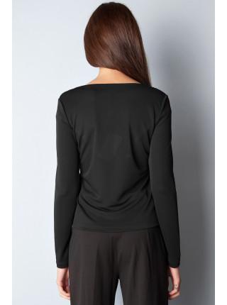 Блуза Abak  44 Черно-коричневая blz077/S_eu