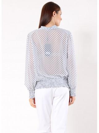 Блуза Abak 48 Біло-чорна blz067/M_eu