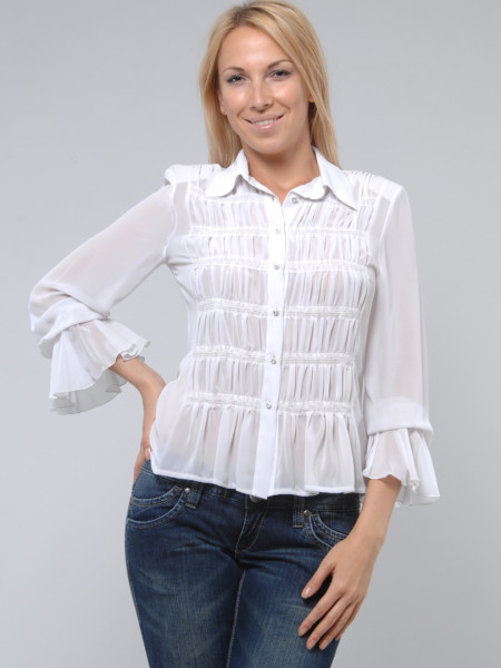 Блуза Abak 44 Біла blz022/S_eu