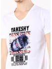 Футболка TAKESHI XL Белая ftb018/XL_eu