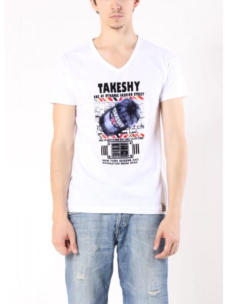 Футболка TAKESHI M Белая ftb018/M_eu