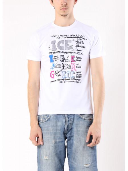 Футболка ICE B XL Белая ftb009/XL_eu