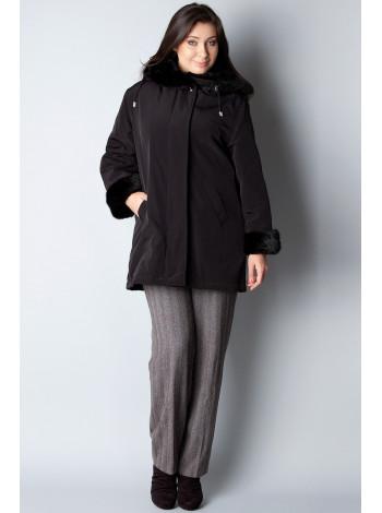 Куртка Leona Benattio 42 Чорна kurt001/36_eu