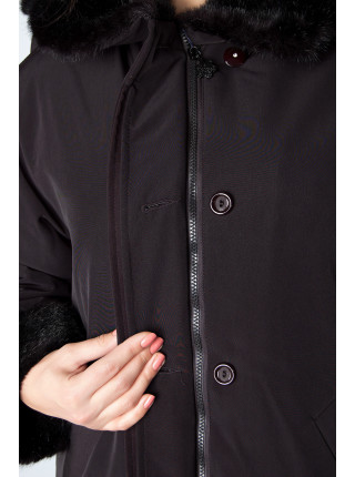 Куртка Leona Benattio 42 Черная kurt001/36_eu