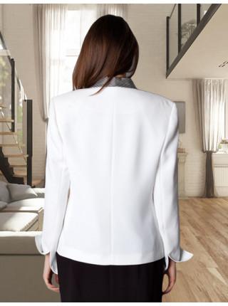 Піджак Bolero 52 Білий  pjk070/46_eu