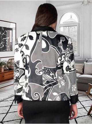 Піджак Bolero 56 Чорно-білий pjk074/50_eu