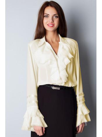 Блуза Abak 52 Кремовая blz146/46_eu