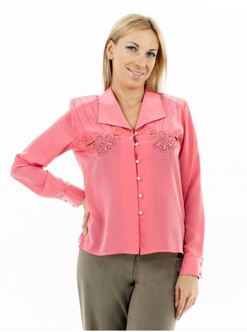 Блуза Abak 44 Коралловая blz082/S_eu