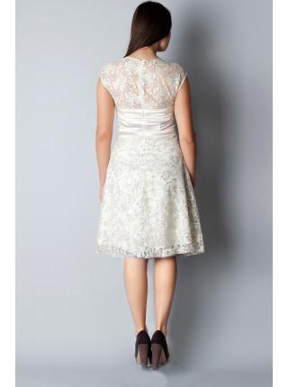 Платье Eveline  52 Кремовое plt029/46_eu